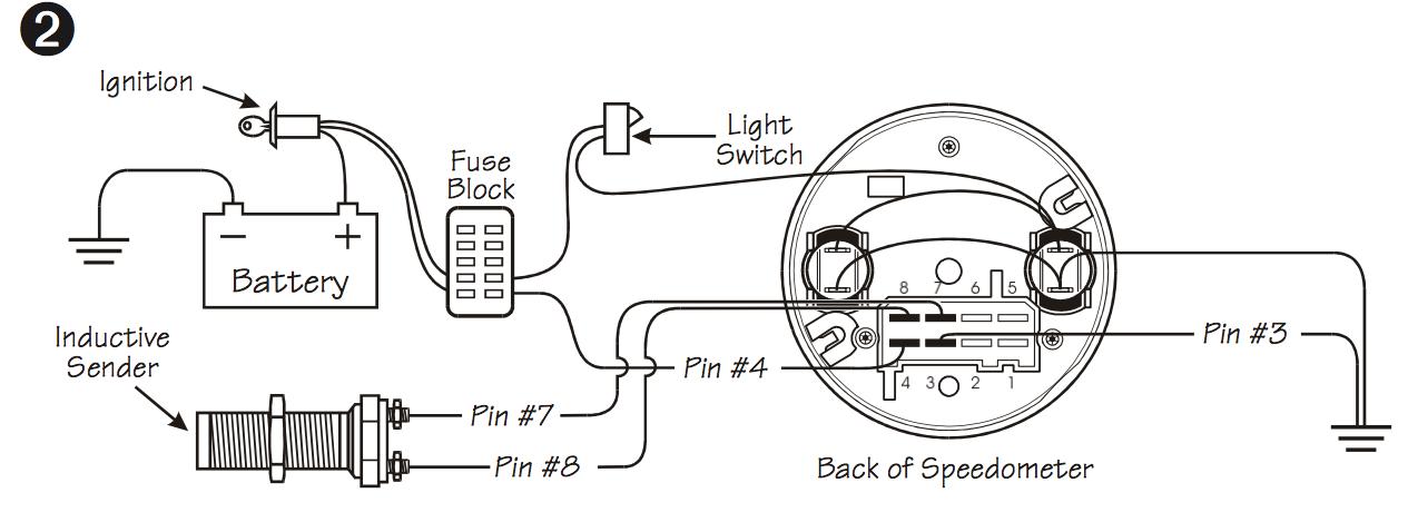 vdo speedometer and etb sensor - the start line