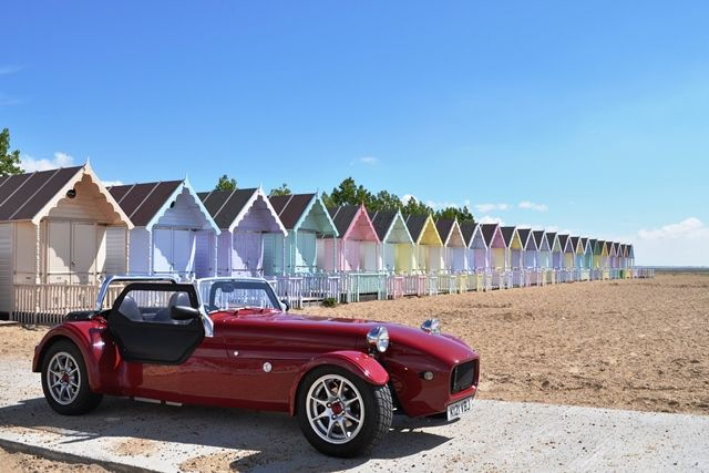 Beech Huts at West Mersea