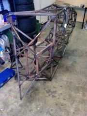 SBD Westfield Chassis, Rear