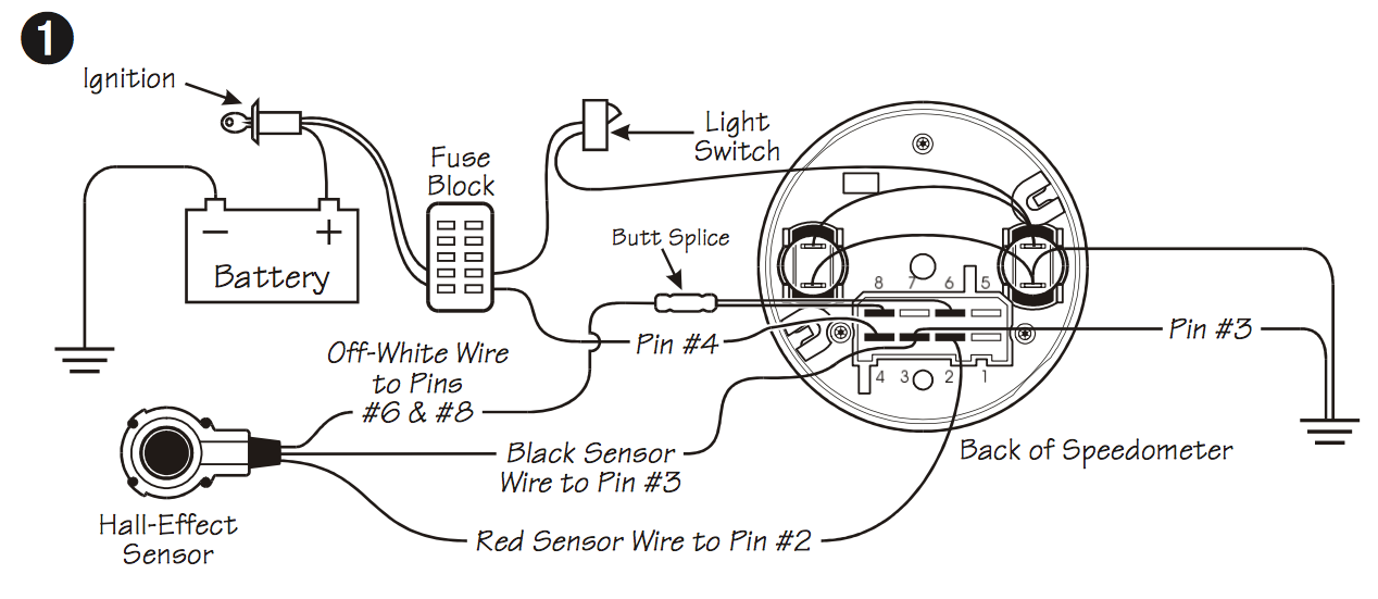 Vdo Speedometer And Etb Sensor - The Start Line