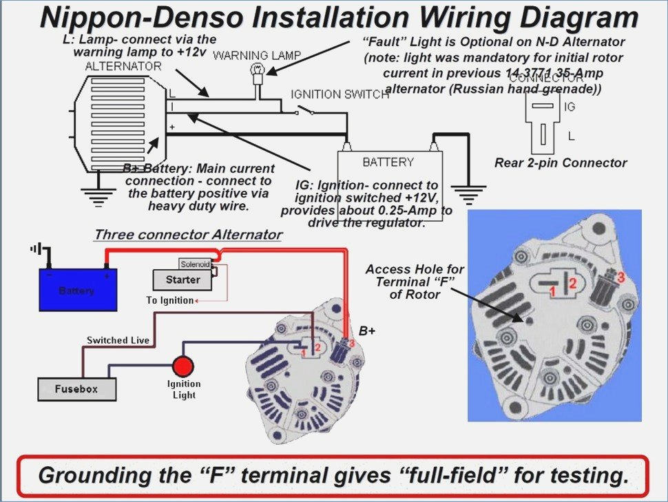 Denso 40a Compact Alternator Page 2 Tech Talk Manual Guide