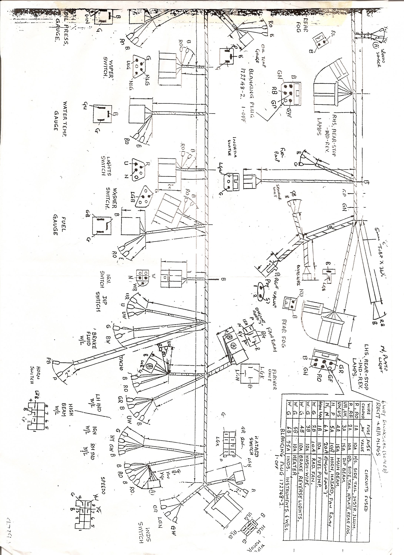 rover v8 wiring - tech talk - wscc